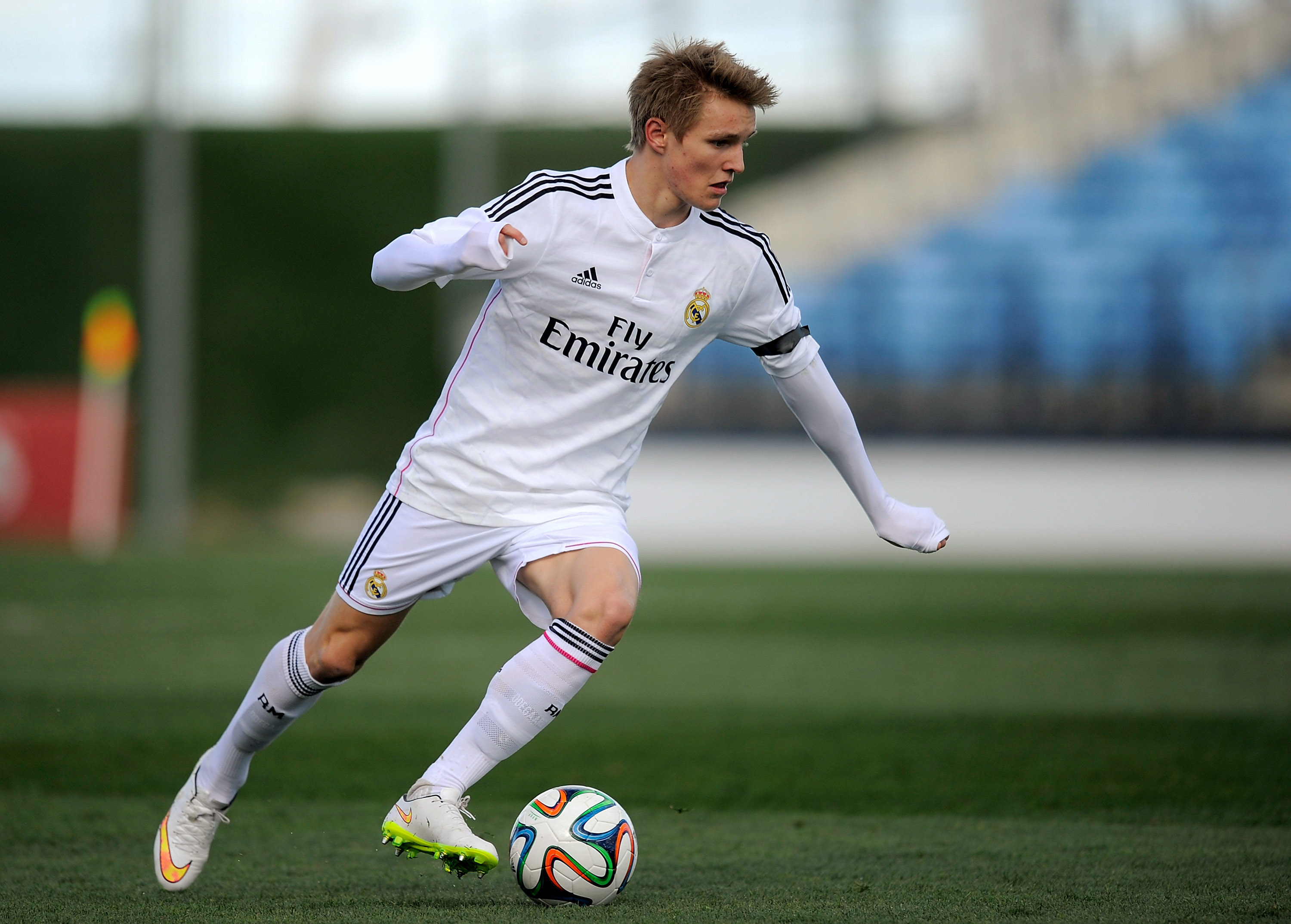 44d98d7fa Denis Doyle Getty Images. Teenage star Martin Ødegaard has been named in a Real  Madrid ...